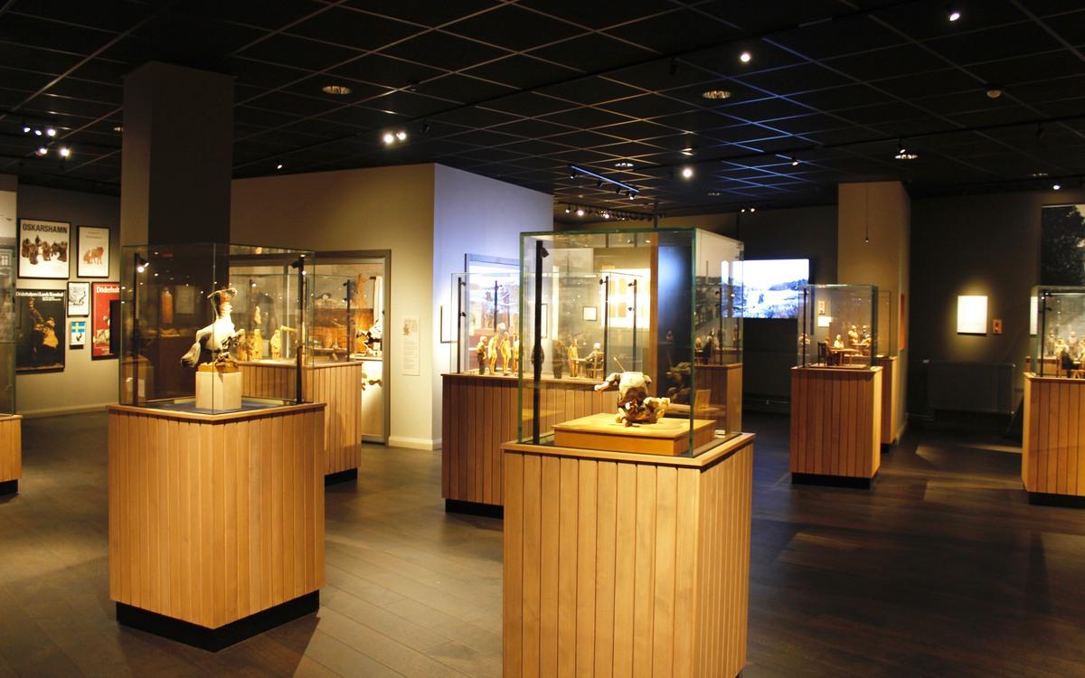 Utställningen på Döderhultarmuseet
