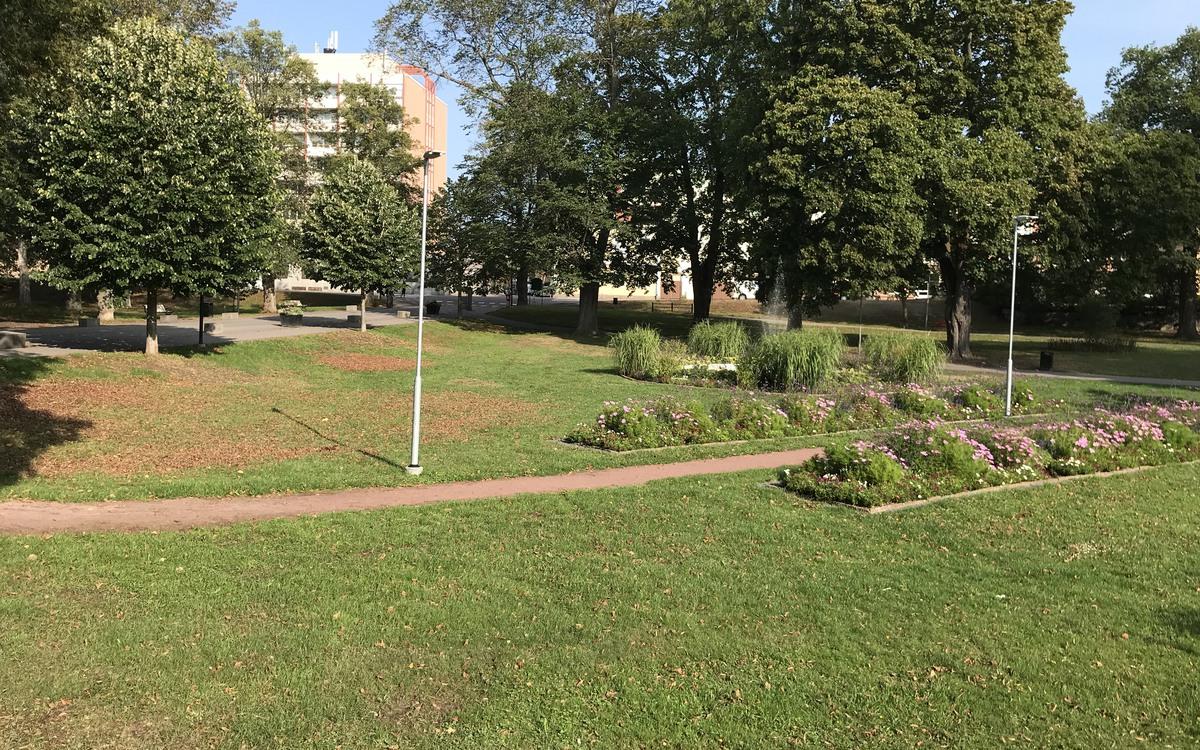 Stadsparken i Oskarshamn