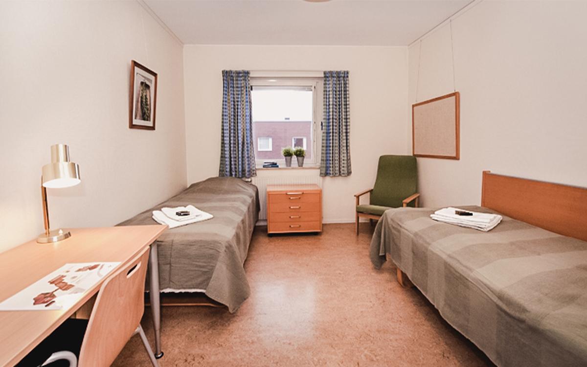 Ett rum på Logi Tuppen