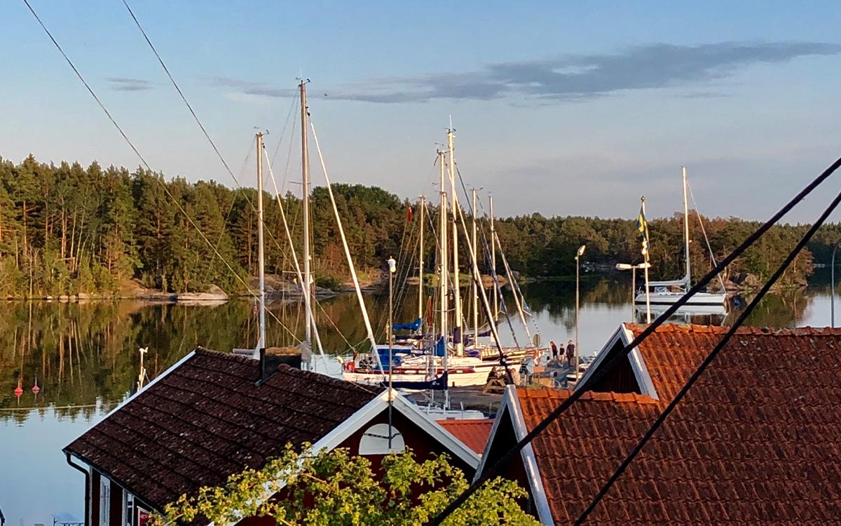 Utsikt över Valborgs i Klintemåla.