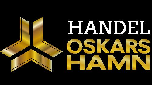 Vit logga Handel Oskarshamn