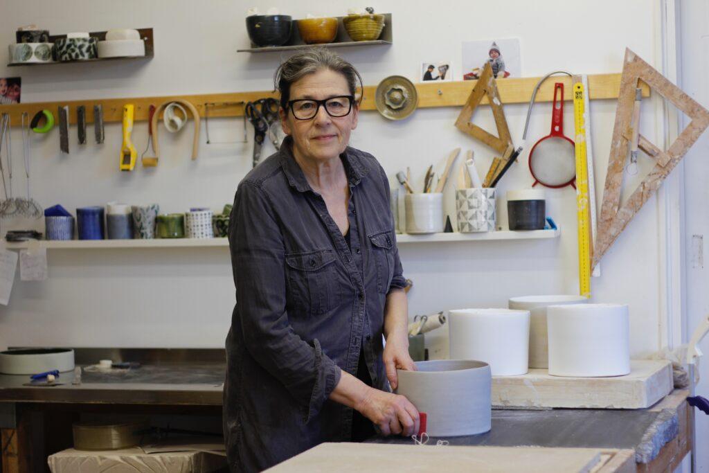 Maria Pohl, keramiker i Oskarshamn