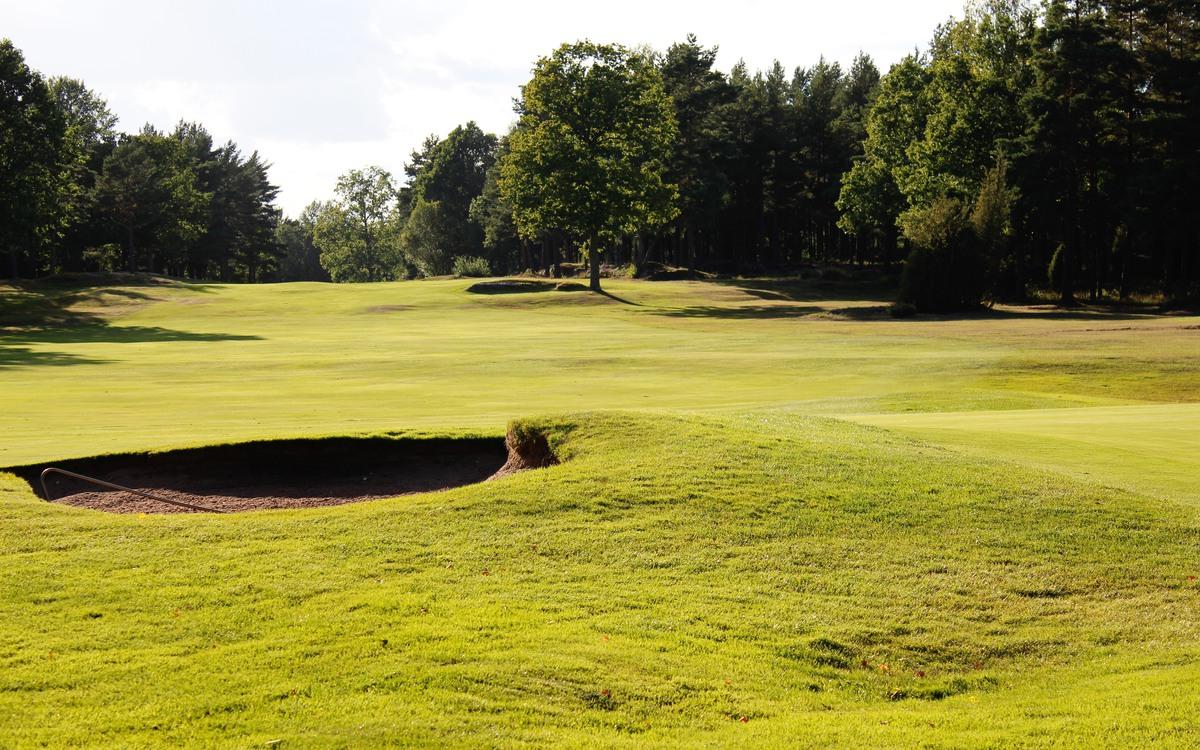 Oskarshamns Golfklubbs fina golfbana