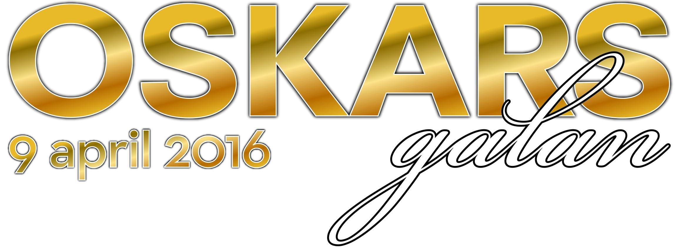 Logotyp för Oskarsgalan 2016.