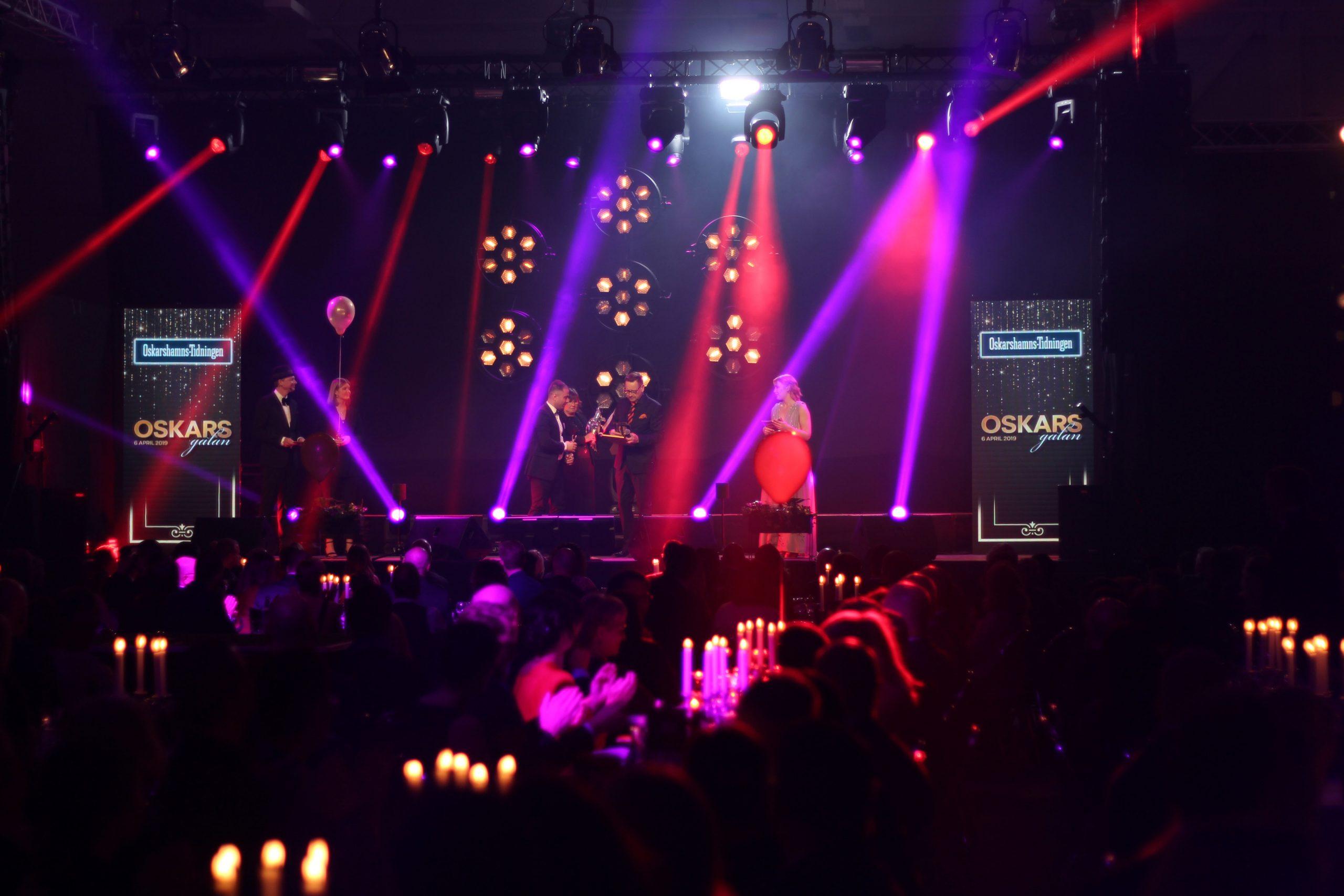 Under Oskarsgalan 2019 utsågs elva stolta vinnare från Oskarshamn.