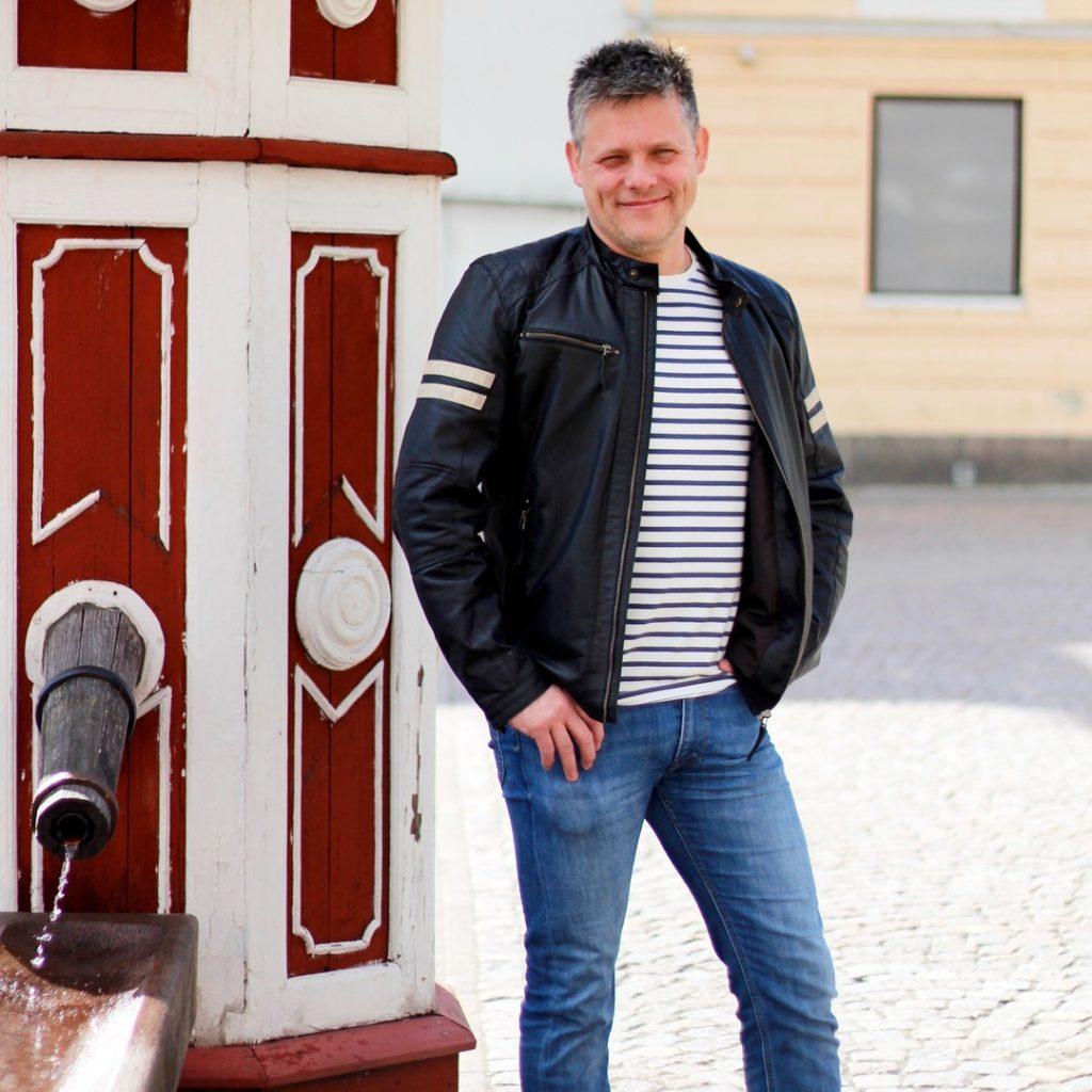 Mattias, platsutvecklare på Attraktiva Oskarshamn