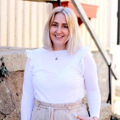 Amanda, platsutvecklare på Attraktiva Oskarshamn
