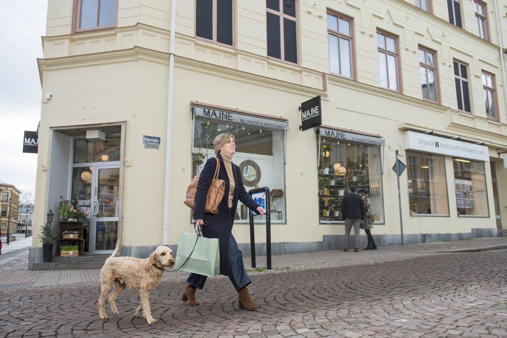 Annelie på stan