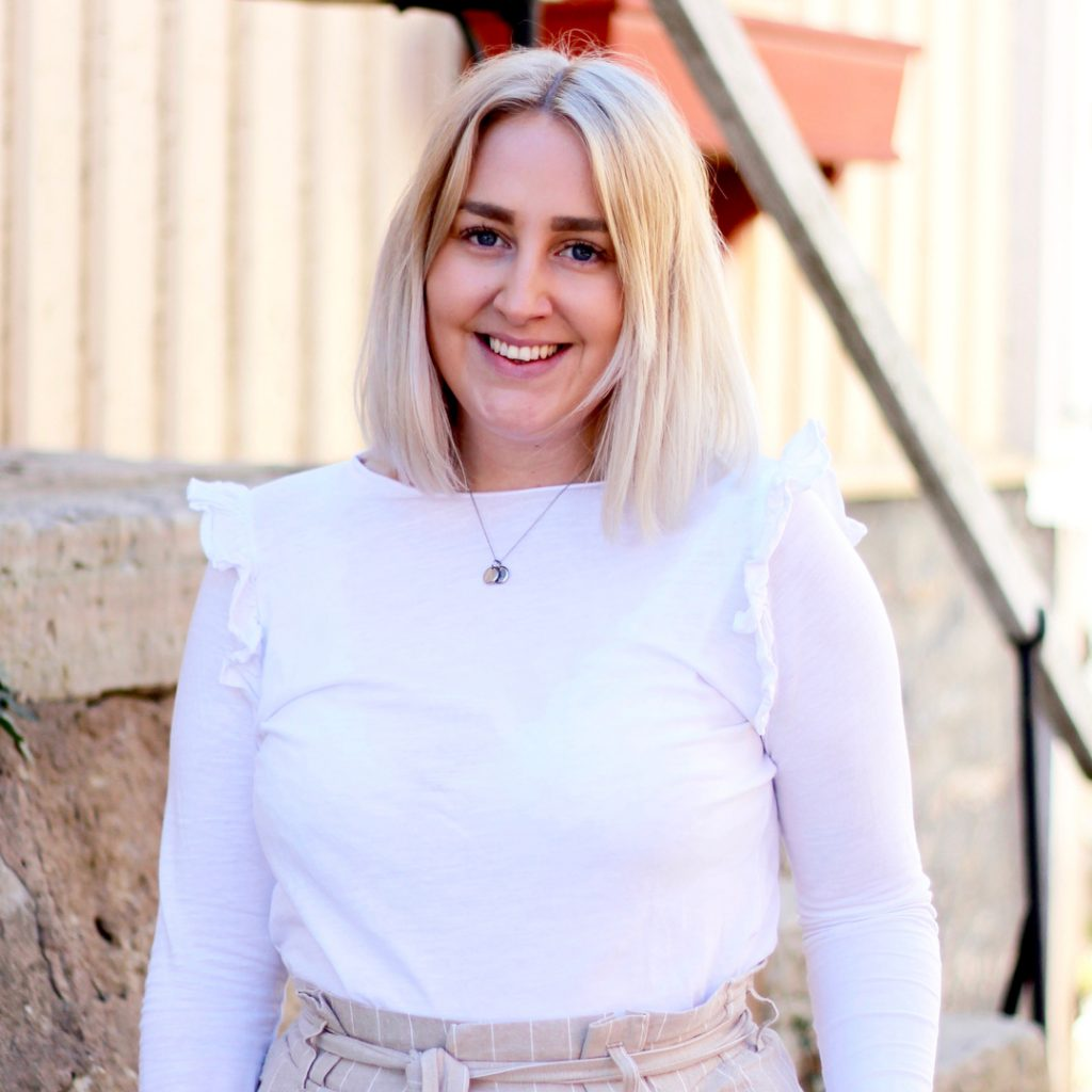 Amanda Hedberg jobbar på Attraktiva Oskarshamn.