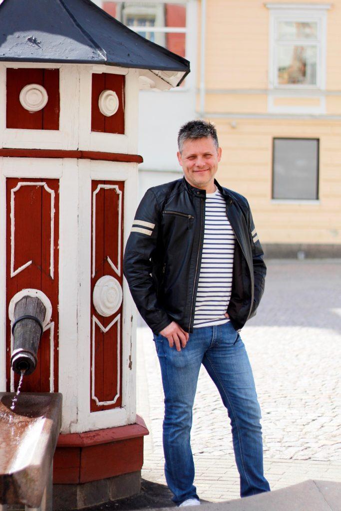 Mattias Lago platsutvecklare på Attraktiva Oskarshamn